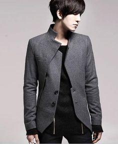 Воротник стойка пиджак