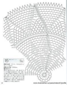 Kira scheme crochet: napkin