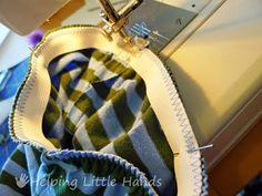 Comfy Newborn Cuffed Pants - Free Printable Pattern