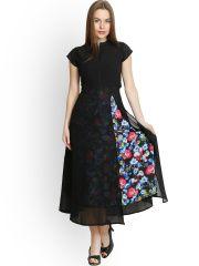 Belle Fille Black Maxi Dress