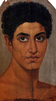 Фаюмские портреты - koroleni Ancient Egyptian Artifacts, Ancient Egyptian Religion, Ancient Art, Art Romain, Egyptian Mummies, Roman Era, Old Portraits, Art Antique, Byzantine Art