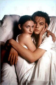 Claire Danes and Leonardo DiCaprio.