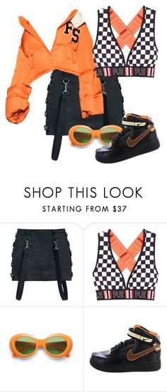 """""""MY ROAD TO 1 MILLION VIEWS"""" by rosavage01 on Polyvore featuring P.E Nation and NIKE"""