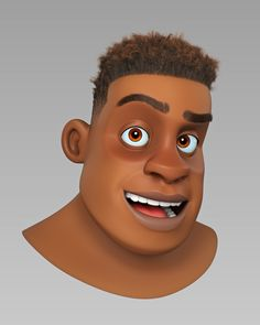 A character bust created to experiment with look development hair and to impro Character Modeling, 3d Character, Character Concept, Character Design, Character Sheet, Character Reference, 3d Modeling, Cartoon Faces, Cartoon Styles