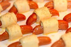 plockmat till barnkalas - korvar o filodeg