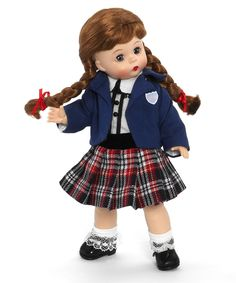 """Madame Alexander English School Girl 8"""" Doll from the International Collection - International"""
