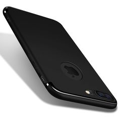 Slim Silicone Case for iphone 7 6 6s Plus 5 5s SE Cover Coque Candy Colors Black Shell Soft PP Matte Phone Cases Fundas