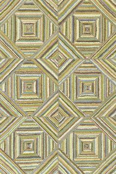 #DashAndAlbert Kaledo Green Cotton Micro Hooked Rug