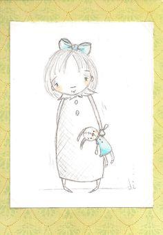 Daily Duda Doodles  Affordable Original Sketch by by DUDADAZE 3/23/12  ©dianeduda/dudadaze