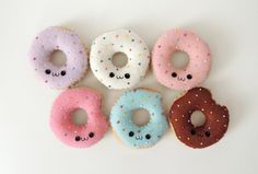 Felt doughnuts by Sarah Richardson