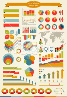 Infographics Elements Royalty Free Stock Vector Art Illustration Free Vector Art, Color Palettes, Infographics, Illustrators, Royalty, Photoshop, Kids Rugs, Graphic Design, Abstract