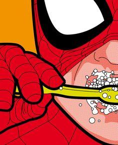 La vida secreta de los superheroes