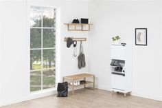 AC Design has a beautiful variety in wall units for every taste: round or square, small or big … It's up to you to create your own personal and perfect home décor. Shoe Cabinet, Diy Garden Decor, Retro Design, Entryway Bench, Nifty, Ladder Decor, Minimalism, Shelves, Furniture