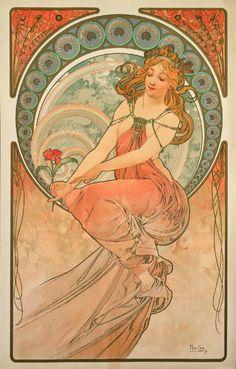 Al Vittoriano di Roma in mostra Alphonse Mucha, maestro dell'Art Nouveau