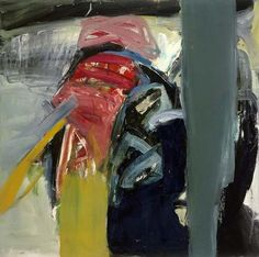 Eva Hesse - No title, 1962  Oil on canvas  91.4 x 92.1 cm / 36 x 36 1/4 in