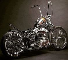 Panhead chopper Chopper motorcycles and custom motorcycles. Sometimes bobbers but mostly choppers, short chops and custom bikes. Motos Harley Davidson, Classic Harley Davidson, Harley Bobber, Harley Bikes, Chopper Motorcycle, Bobber Chopper, Motorcycle Humor, Motorcycle Paint, Motorcycle Types