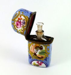 18th Century South Staffordshire Scent Bottle