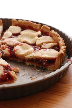 sour cherry almond torte