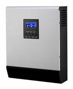 Inverter onda pura con potenza da 800W a 4000W con regolatore e caricabatteria incorporati.  www.tredienergia.it