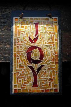 Joy Mosaic by Nutmeg Designs by stratoz, via Flickr