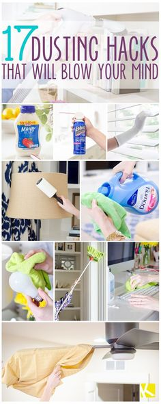 17 Incredible Ways to Dust That Will Blow Your Mind #cleaninghacks