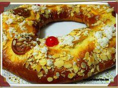 Roscón de Reyes sencillo y perfecto.  #recetas #recipes #navidad #christmas #reposteria