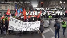 Manif pour Afrin (Paris, 20/01/2018)