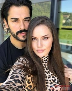 Actor Fahriye Evcen married Burak Özçivit in 2017 with a magnificent ceremony, where she met and started to live in love on the set of 'Çalıkuşu'. The couple's first baby, Karan, … Beautiful Children, Beautiful People, Beautiful Women, 2017 Fall Fashion Trends, Film 2017, Burak Ozcivit, Famous Couples, Important People, Young Love