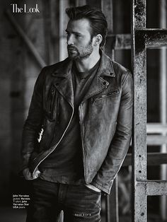 Chris Evans - Instyle Magazine - May 2016