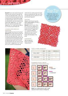 Inside Crochet Issue 8 2010 - 轻描淡写 - 轻描淡写 Cover Up, How To Wear, Free
