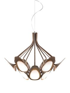 Shop the Peacock Suspension Lamp and more contemporary lighting designs by Kundalini Lighting at Haute Living. Ceiling Lamp, Ceiling Lights, L And Light, Door Accessories, Light Table, Hanging Lights, Glass Shades, Lighting Design, Light Fixtures