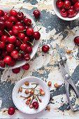 Cherry pitting