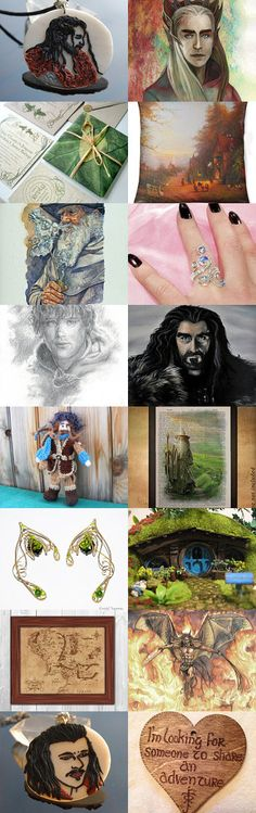 From Middle Earth, with love by Lyriel MoonShadow on Etsy--Pinned with TreasuryPin.com