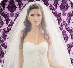 NEW 4 LAYER Little Something Wedding Veil with a by veiledbeauty, $210.00