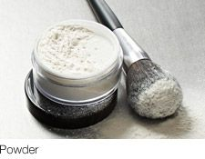 """Powder Tips """"Set"""" makeup, reduce shine and create a matte finish with this finishing touch."""