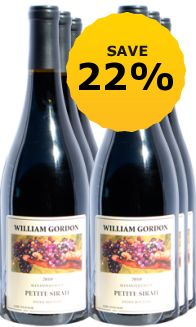 2010 William Gordan. Alexander Valley Petite Syrah