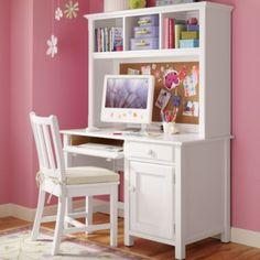 Superieur Kidsu0027 Desks U0026 Chairs: Kids White Classic Wooden Walden Desk In Desks U0026  Chairs