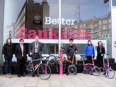 A 'pitstop' for cyclists to pump up their bike tyres or carry out basic repairs has been unveiled outside the Bankside Community Space in Great Guildford Street.