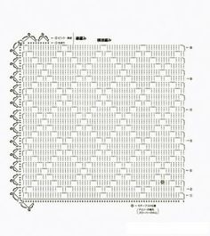 Vanecroche e patch: Jogo americano croche com gráfico