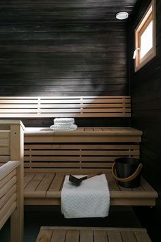 Sauna Room, Saunas, Blinds, House Plans, Home Appliances, Curtains, Sauna Ideas, Interior, Places