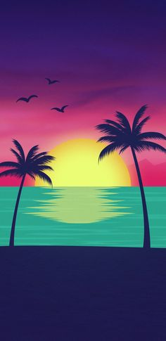 Discovered by Azeneth Martinez. Find images and videos about beach, tree and palm trees on We Heart It - the app to get lost in what you love. Chill Wallpaper, Beach Wallpaper, Scenery Wallpaper, Love Wallpaper, Nature Wallpaper, Wallpaper Backgrounds, Summer Wallpaper, Mobile Wallpaper, Designer Wallpaper