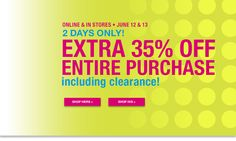 Last Call by Neiman Marcus Clearance - Extra 35% off Entire Purchase!