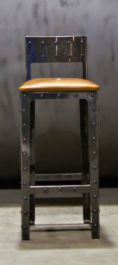 Metal Kitchen Barstool 30 by BasinCustom on Etsy, $525.00