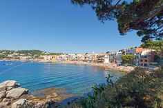 The beach at Caella de Palafrugell - just a short walk from the campsite at Camping la Siesta. Details: http://www.canvasholidays.co.uk/spain/spain/cb06f/camping-la-siesta