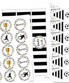 Fußball Printables zum Ausdrucken
