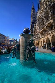 Brunnen vorm Rathaus
