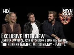 "Watch Jennifer Lawrence And Josh Hutcherson Secretly Play The ""Circle Game"""