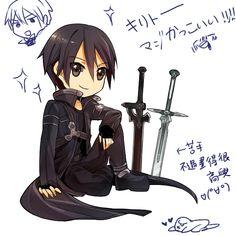 Chibi Kirito - Sword Art Online