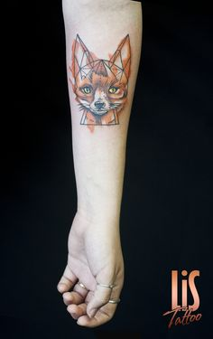 #tattoo #Tattooist #tattooartist #tattoos #inked #ink #foxtattoo #tattoofox #fox