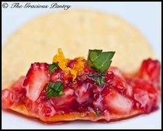 Clean Eating Strawberry Salsa!